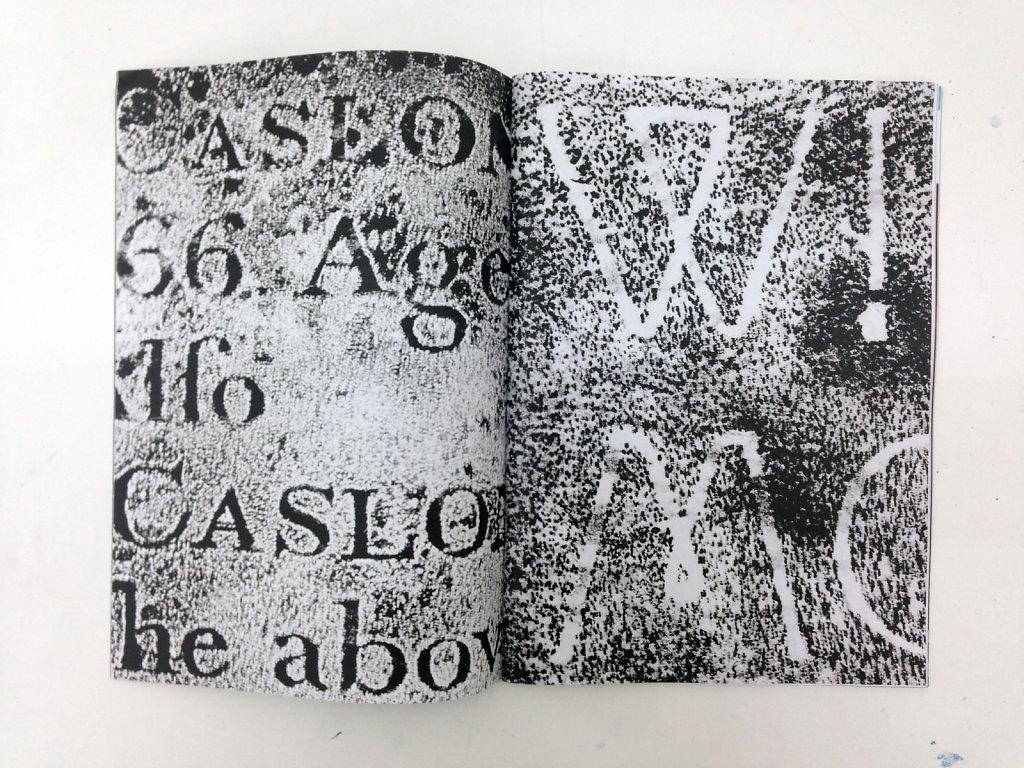A History of Type Design (2011-ongoing). Gavin Morrison & Scott Myles